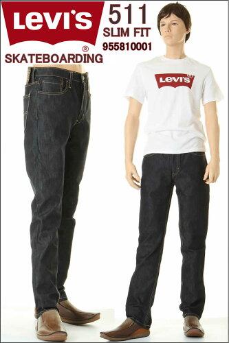 リーバイス 511 95581-0001 スケートボーディングコレクション アメリカ限定モデル スリムフィット...