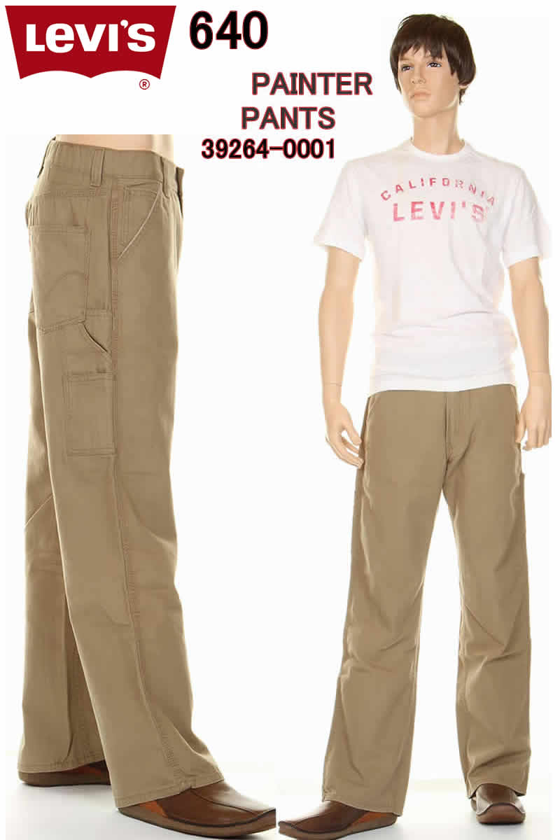 メンズファッション, ズボン・パンツ Levis 00640-1590 Loose Fit Straight Carpenter Pants LEVIS 569 100