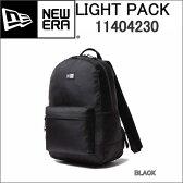 NEW ERA 11404230 ニューエラ LIGHT PACK BLACK ポリエステル デイパック BACK PACK バックパック リュックサック 黒 ブラック【NEWERA デイリー リュック バック パック LIGHTPACK 1680D BLACK 24L BLACK BAGS & PACKS BLK 24Lリットル】