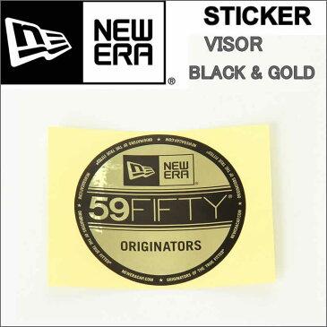 NEW ERA Die-cut Visor Sticker ニューエラ ダイカット バイザー ステッカー ブラック ホワイト 黒 白 ニュー エラステッカー【NEWERA STICKER ステッカー シール アクセサリー ブラック ピンク ホワイト ゴールド ニューエラ キャップ 帽子 new era 貼 ミラー】