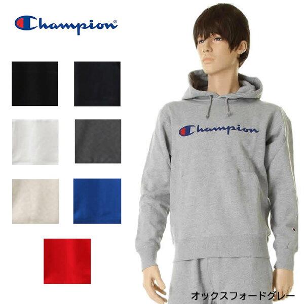 ChampionチャンピオンC3-J117C3-Q102プルオーバースウェットパーカーベーシックカラースウェットパーカーメンズ