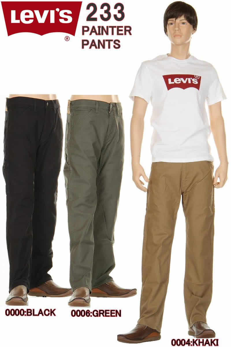 メンズファッション, ズボン・パンツ Levis 34233 0004 Regular Fit Straight Carpenter Pants 505 LEVIS 98
