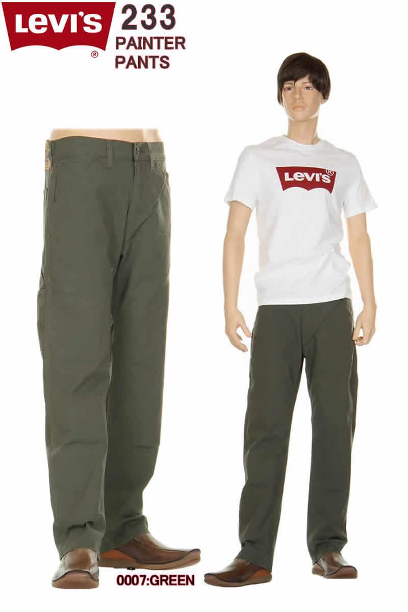 メンズファッション, ズボン・パンツ Levis 34233 0007 Regular Fit Straight Carpenter Pants 505 LEVIS 98