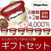 ギフト アイスクリーム ハーゲンダッツ アイスクリーム ギフト セット12個 アイス お礼 お返し 内祝い 出産祝い お祝