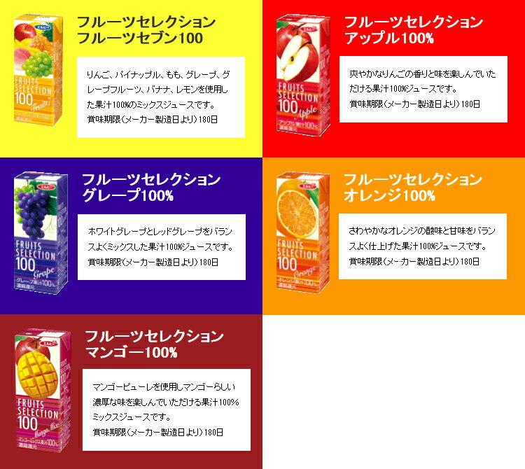 母の日 選べるエルビー果汁100%フルーツセレクション24本セット(4種類×6本) 母の日 お歳暮内祝い 出産祝い お礼 オフィス 備蓄