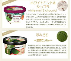 ハーゲンダッツアイスクリームミニカップ19種類から2種類選べる12個(6個×2種類)セット
