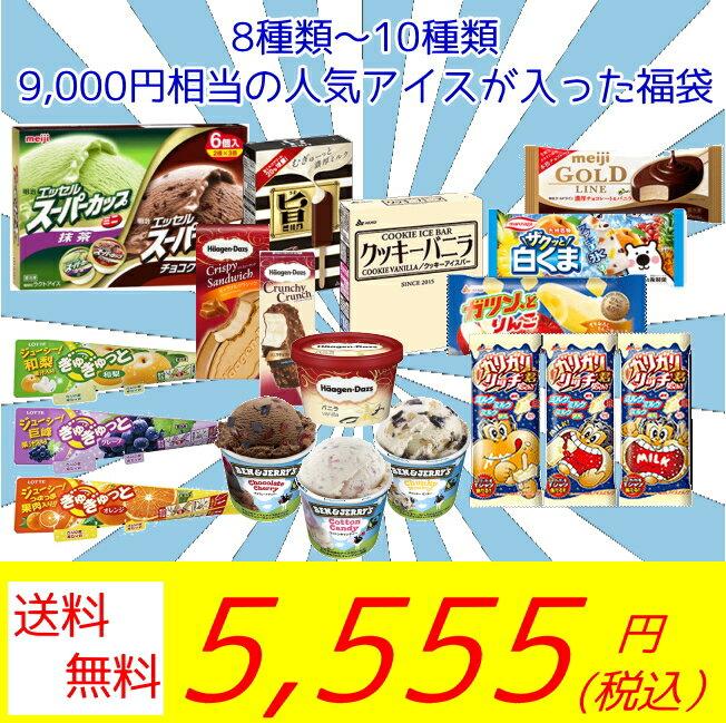 「クーポン配布中!」 超お買い得! アイスクリーム福袋 (中身は当店にお任せ)合計40~50個のアイスクリームが入って送料無料!