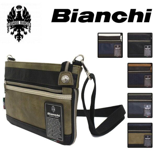 3ff290f7d47c 正規取扱店 Bianchi(ビアンキ) TBPI-10 ショルダーバッグ BLACK 全6色