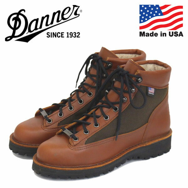 (ダナー) DANNER W'S 30475 DANNER LIGHT レディースブーツ Ceder Brown アメリカ製