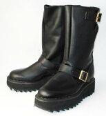 日本国内送料・代引き手数料無料 正規代理店666 George Coxジョージコックス 7409 Ripple Sole Engineer Boots リップルソールエンジニアブーツ