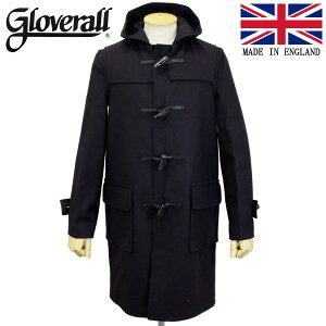 正規取扱店 GLOVERALL (グローバーオール) 3681-MM CLOTH ダッフルロングコート 日本別注 03-NAVY GLA004
