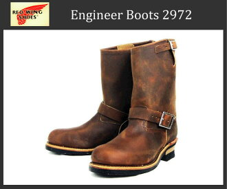 Shipping & cash on delivery fee free regular handling Shop Red Wing (Redwing Red Wing) 2972 ENGINEER BOOTS (loafer) rough & tough (Brown)