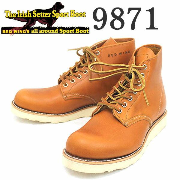 ブーツ, ワーク  REDWING () 9871 6inch CLASSIC ROUND TOE