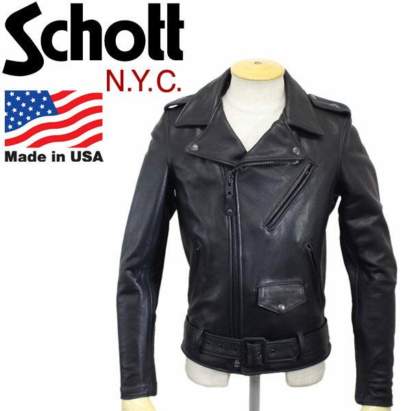 メンズファッション, コート・ジャケット  Schott () 513UST ONESTAR RIDERS OTC TALL ( ) 009-BLACK