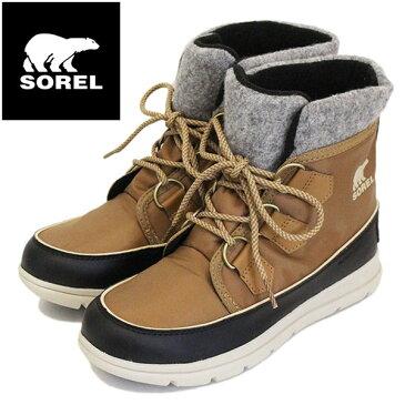 正規取扱店 SOREL (ソレル) NL3421 SOREL EXPLORER CARNIVAL エクスプローラーカーニバル レディース スノーブーツ 防水 286 ELK SRL018