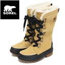 正規取扱店 SOREL (ソレル) NL3426 TIVOLI IV TALL ティボリIVトール レディース スノーブーツ 防水 373 CURRY SRL021