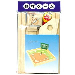木製工作キット 野球ゲーム