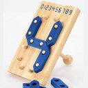 【初めての数字遊び♪】木製玩具 デジタルナンバーズ