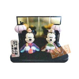 【ディズニーで雛祭り】【送料・代引手数料(無料)】Disney ディズニー 金屏風付・ミッキー&...