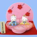 【ハローキティで雛祭り】Sanrio ハローキティ雛人形 花台雛 (化粧箱入り)