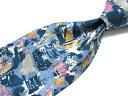 ブランド ネクタイ 【中古】Michel Valentino ミッシェルバレンチノ 総柄 ブランド ネクタイ 良品 メンズ プレゼント