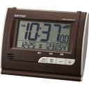 期間限定 目覚まし時計 メンズ レディース 時計 リズム 電波 フィットウェーブ D165 8RZ165SR06 ※fu