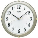 期間限定 掛け時計 メンズ レディース 時計 セイコー 電波掛時計 見やすさを追求 シンプルデザイン KX211S ※fu