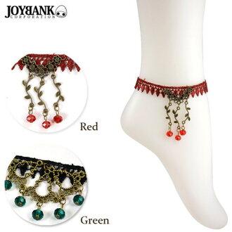 期間限制腳鐲女士女裝配件古董蕾絲復古賽車配件飾品配件飾品女士 j * 福