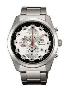 腕時計メンズ小物日本製国産品Madeinjapanオリエント高速20分の1クロノウォッチWV0451TTモスグリーン時計ウォッチ国産ビジネス日本産