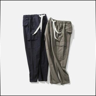 褲子男式底部加長型固體 drost 規範貨物褲子戶外簡單男士休閒長褲