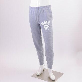 限期供應運動衫褲子人底運動衫白印刷灰色運動長褲男性時裝舞蹈 ※fu
