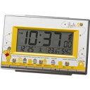 目覚まし時計 インテリア・寝具・収納 リズム時計 製 電波 目覚まし 時計 くまのプーさん