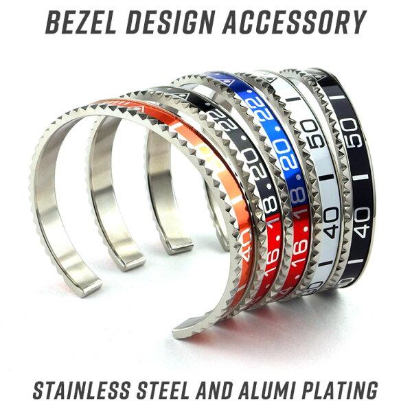 ウォッチベゼルデザインステンレスバングルブレスレットユニセックスメンズレディースロレックスROLEX調腕時計
