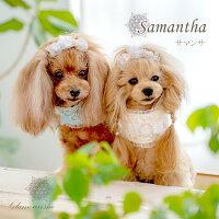グラマーイズムGlamourismサマンサSamantha【小型犬ウエアマフラースカーフ首巻きスヌードセレブ】