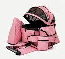 天使のカート ポルテ キルト マット ピンク PORTE QUILT MAT PINK FULL SET (バッグのみ) S【キャリーカート ペットカート ペットバギー】 その1