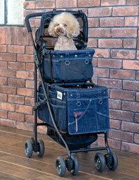 MotherCart(マザーカート)×Glamourism(グラマーイズム)アジリティーSAKURA上下段【小型犬キャリーバッグ/キャリーカート/ペットカート/ペットバギー/犬用品/送料無料】