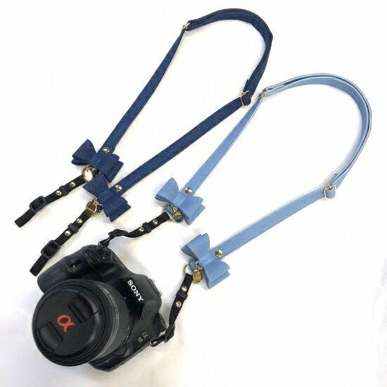 minttan (ミントタン) デニムカメラストラップ【犬用 ペット用品 オーナー様グッズ カメラストラップ セレブ /】