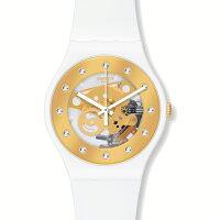 SWATCHスウォッチLACQUEREDラッカードSUNRAYGLAMサンレイグラム腕時計【国内正規品】SUOZ148【送料無料】【き手数料無料】