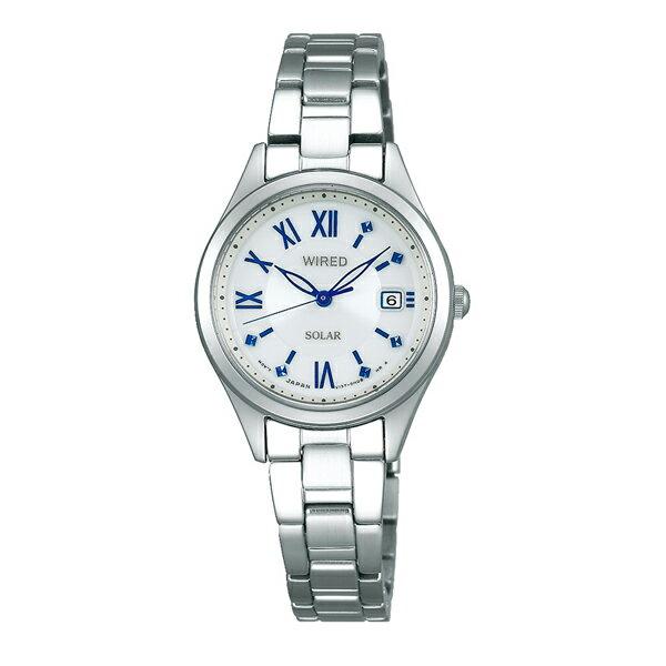 WIRED f ワイアード エフ SEIKO セイコー PAIR STYLE ペア・スタイル ソーラー 腕時計 レディース AGED104
