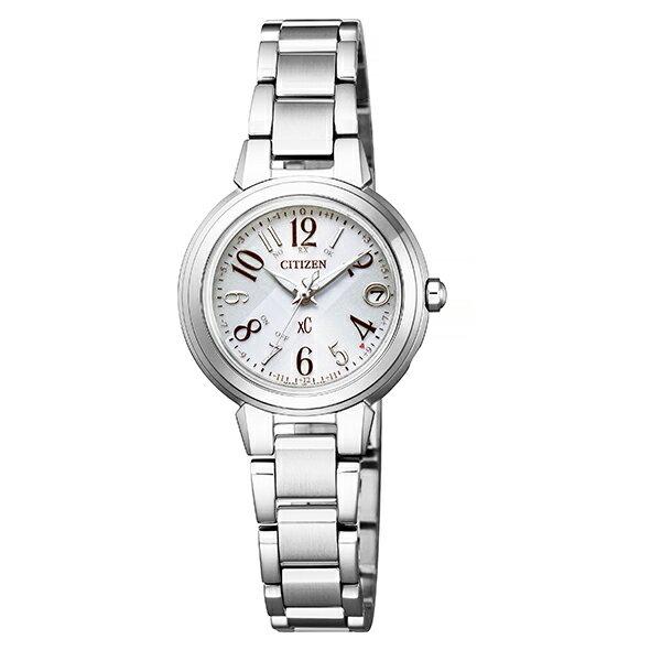 xC クロスシー CITIZEN シチズン ハッピーフライト エコ・ドライブ電波 腕時計 レディース ソーラー ブランド ES9430-54B