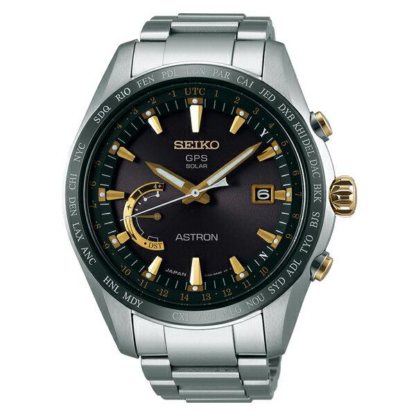 腕時計, メンズ腕時計 SEIKO ASTRON 8X Series World-Time SBXB087