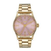 NIXONニクソンSentry38SSセントリーLightGold/Pink【国内正規品】腕時計NA4502360【送料無料】【き手数料無料】