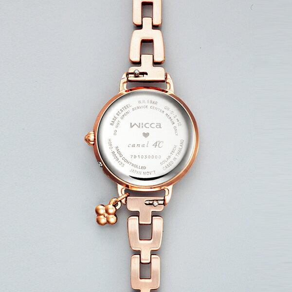 CITIZEN シチズン wicca ウィッカ × canal4℃ コラボレーション 700本限定モデル  国内正規品 腕時計 レディース KL0-561-13 【】