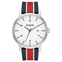 NIXONニクソンRolloロロWhite/Stripes【国内正規品】腕時計NA9451854【送料無料】【き手数料無料】