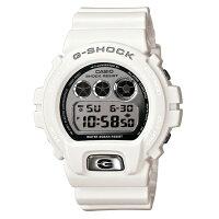 G-SHOCKジーショックCASIOカシオメタリックダイアル腕時計【国内正規品】メンズホワイトDW-6900MR-7JF【送料無料】【き手数料無料】