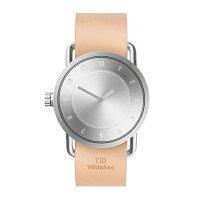 TIDWatchesティッドウォッチNo.1レザーベルトシルバー40mm【国内正規品】腕時計TID01-SV/N【送料無料】【き手数料無料】