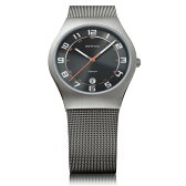 BERING ベーリング Ultra Slim Titanium ウルトラ スリム チタニウム 腕時計 【国内正規品】 メンズ グレー 11937-007 【送料無料】【代引き手数料無料】