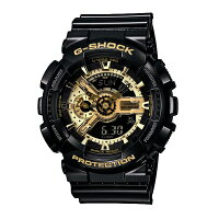 G-SHOCKジーショックCASIOカシオBlack×GoldSeriesブラック×ゴールドシリーズ2011年夏新作【国内正規品】腕時計GA-110GB-1AJF