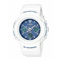 G-SHOCKジーショックCASIOカシオMULTIBAND6ホワイト×ライトブルー【国内正規品】腕時計メンズAWG-M510SWB-7AJF【送料無料】【き手数料無料】
