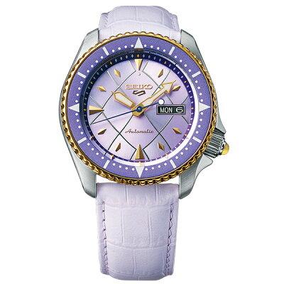 ジョジョの奇妙な冒険 黄金の風 コラボモデル パンナコッタ・フーゴ SEIKO5スポーツ 1000本限定 腕時計 自動巻 SBSA030